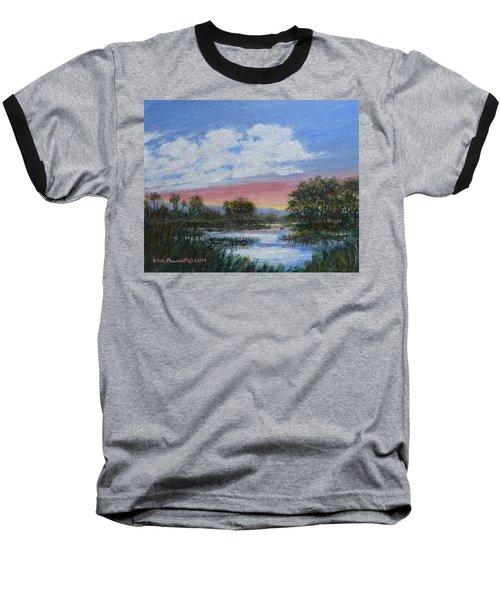 Marsh Reflections Baseball T-Shirt