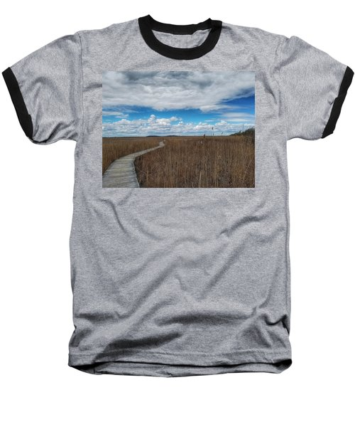 Marsh Walk 3 Baseball T-Shirt