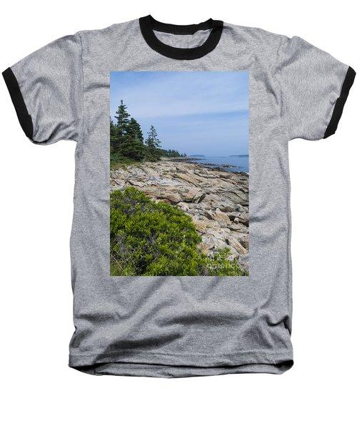 Marshall Ledge Looking Downeast Baseball T-Shirt