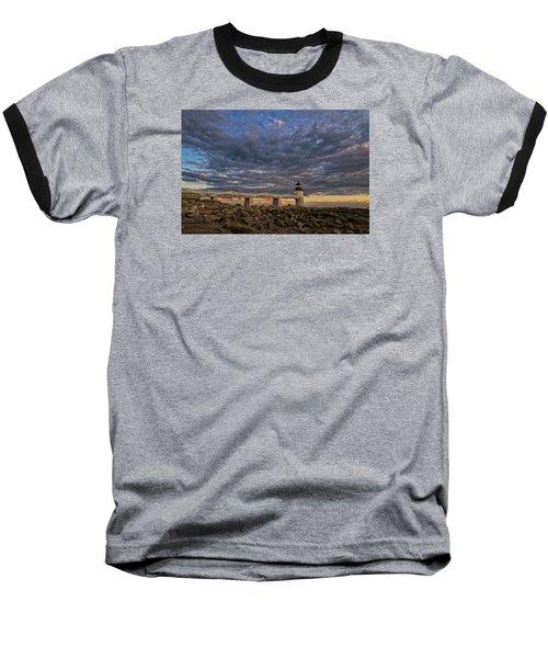 Marshall Point Lighthouse Maine Baseball T-Shirt