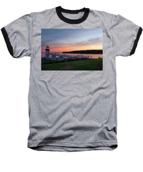 Marshall Point Lighthouse, Port Clyde, Maine -87444 Baseball T-Shirt by John Bald