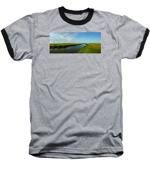 Baseball T-Shirt featuring the photograph Marshes Of Glynn by Laura Ragland