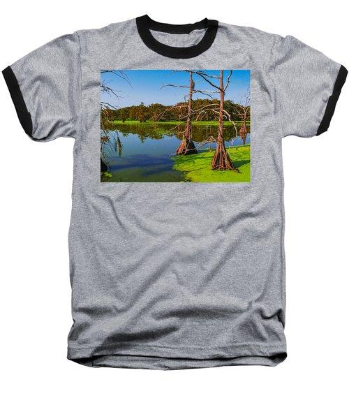 Marshes Of Wallisville Baseball T-Shirt