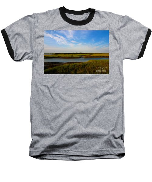 Marshland Charleston South Carolina Baseball T-Shirt