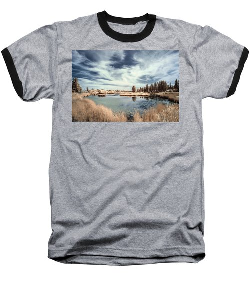 Marshlands In Washington Baseball T-Shirt