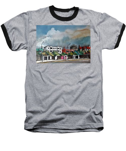F  732 Martello Tower Bray Seafront Wicklow.. Baseball T-Shirt