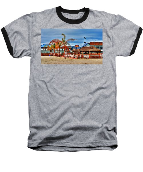 Martells On The Beach - Jersey Shore Baseball T-Shirt
