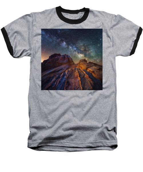 Baseball T-Shirt featuring the photograph Martian Landscape by Darren White