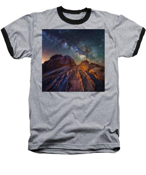 Martian Landscape Baseball T-Shirt