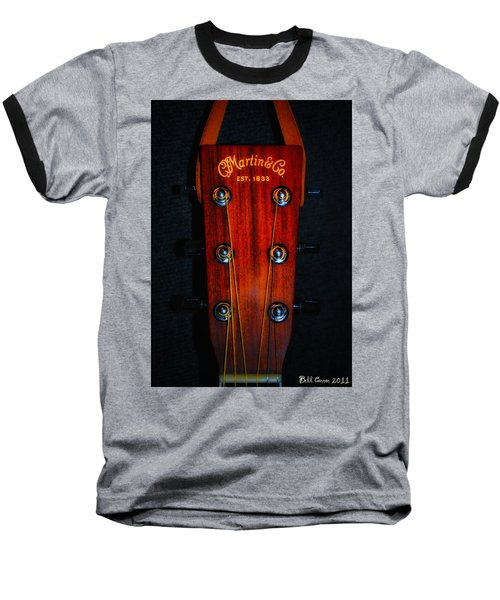 Martin And Co. Headstock Baseball T-Shirt
