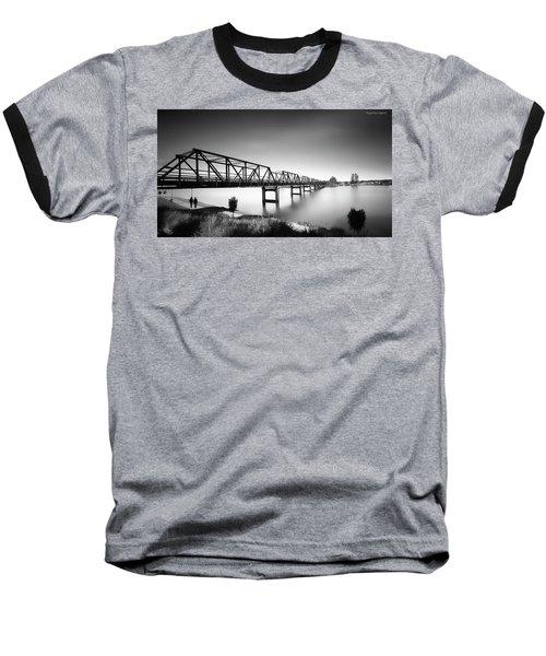 Martin Bridge 6666 Baseball T-Shirt by Kevin Chippindall