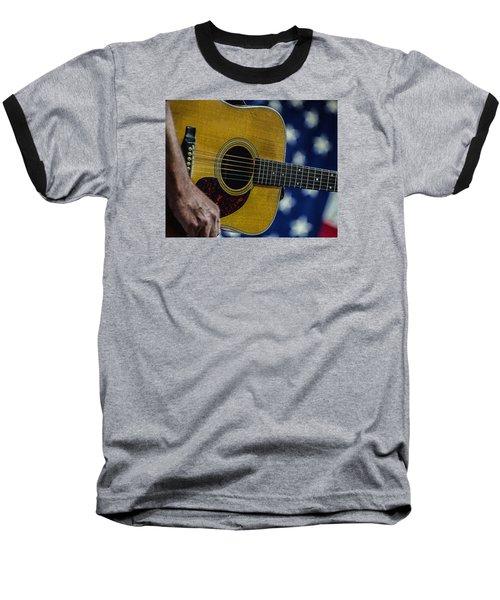 Baseball T-Shirt featuring the photograph Martin Guitar 1 by Jim Mathis