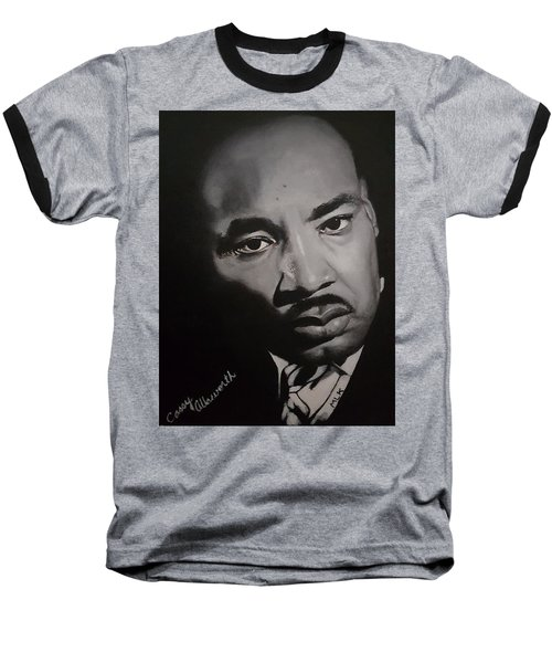 Martin Luther King Baseball T-Shirt