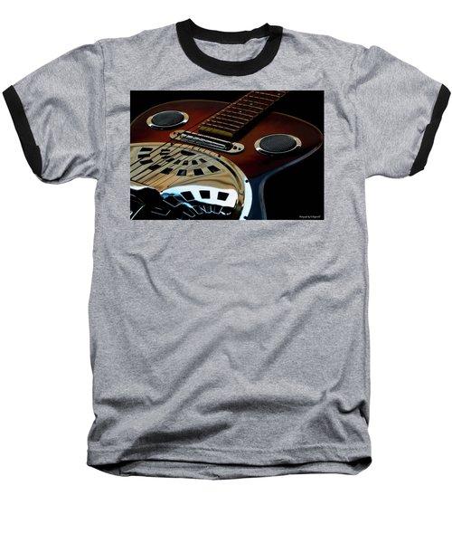 Martinez Guitar 002 Baseball T-Shirt by Kevin Chippindall