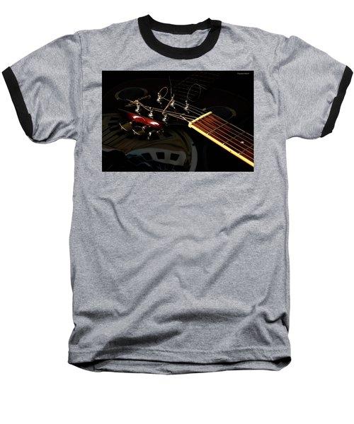 Martinez Guitar 003 Baseball T-Shirt by Kevin Chippindall
