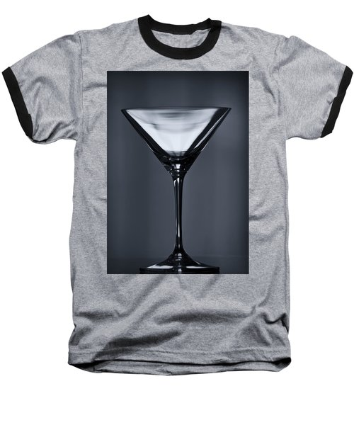 Martini Baseball T-Shirt by Margie Hurwich