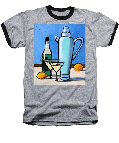 Martini Night Baseball T-Shirt