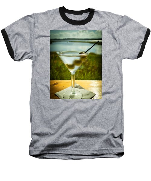 Martini On Fine Summer Day Baseball T-Shirt