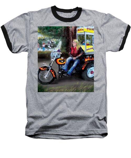 Marty's Harley Baseball T-Shirt