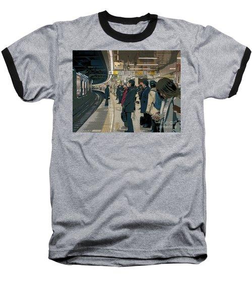 Marunouchi Line, Tokyo Metro Japan Poster 2 Baseball T-Shirt