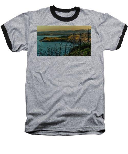 Mary Bay At Dawn Baseball T-Shirt by Yeates Photography