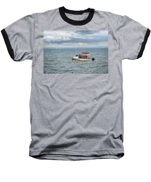 Maryland Crab Boat Fishing On The Chesapeake Bay Baseball T-Shirt