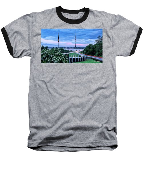 Maryland World War II Memorial Baseball T-Shirt