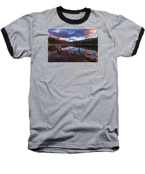 Mary's Reflection Baseball T-Shirt by Tassanee Angiolillo