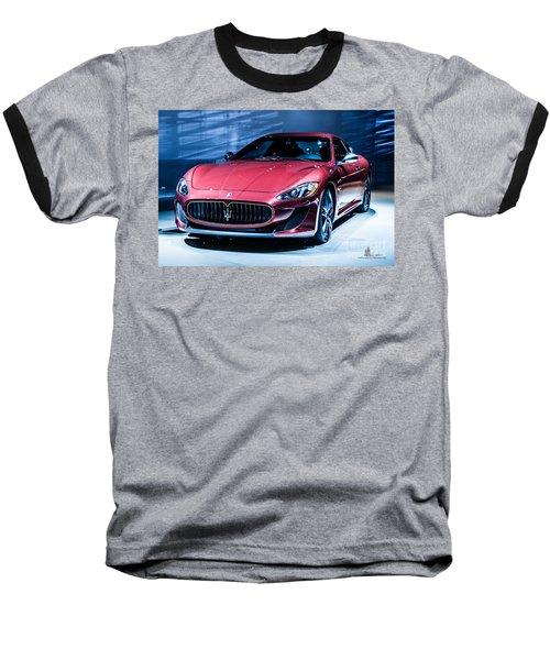 Maserati Baseball T-Shirt