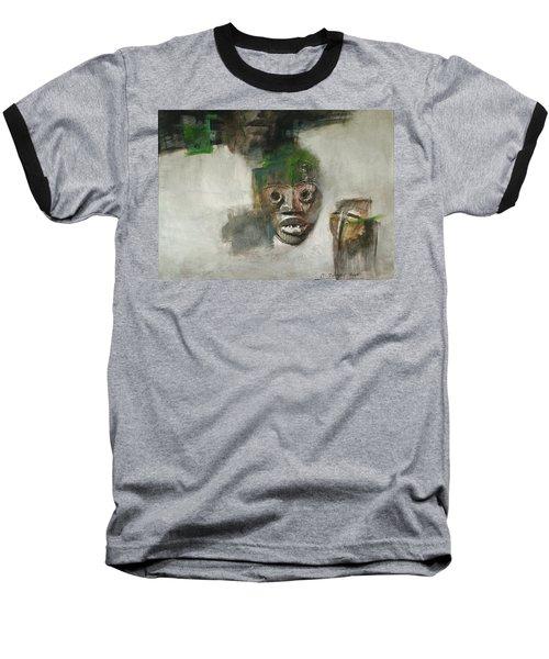 Symbol Mask Painting - 06 Baseball T-Shirt