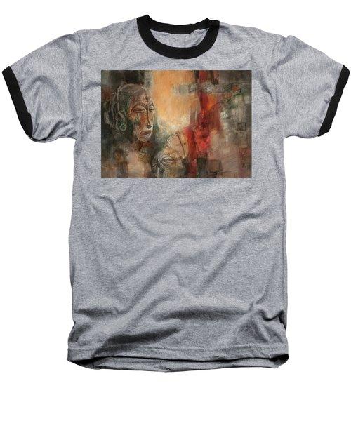 Symbol Mask Painting - 08 Baseball T-Shirt