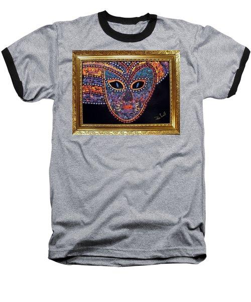 Mask Baseball T-Shirt