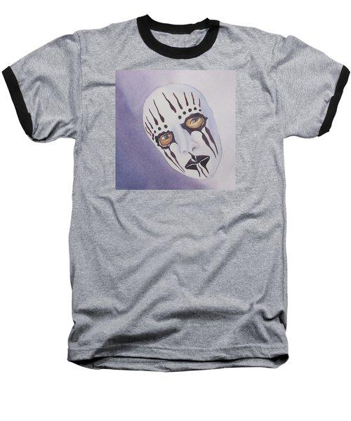 Mask I Baseball T-Shirt by Teresa Beyer