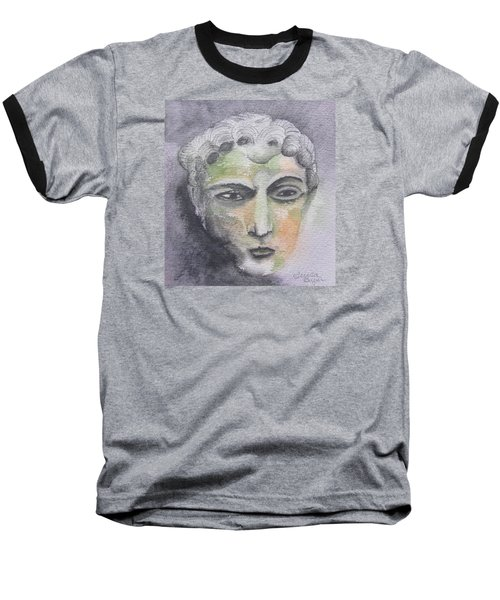 Mask II Baseball T-Shirt by Teresa Beyer