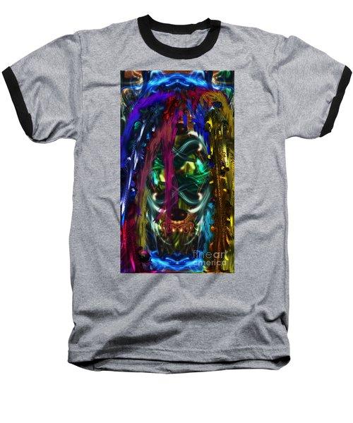 Mask Of The Spirit Guide Baseball T-Shirt