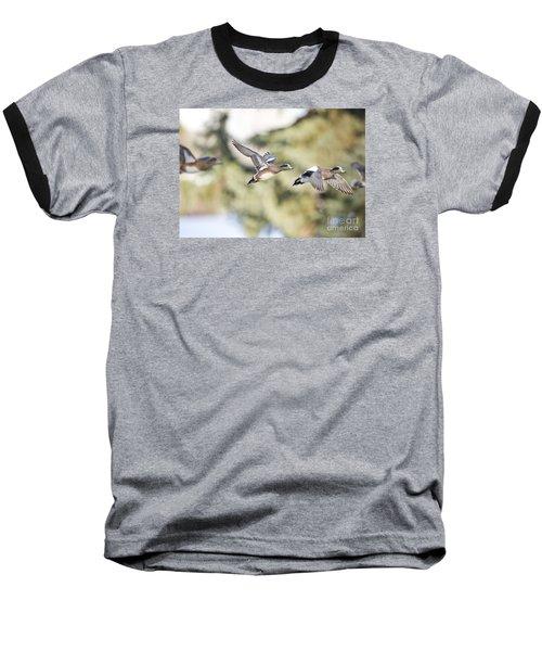 Masked Procession Baseball T-Shirt