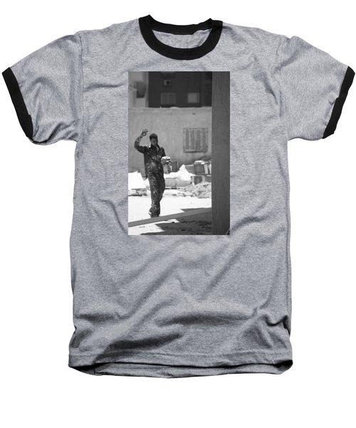 Baseball T-Shirt featuring the photograph Massalama by Jez C Self