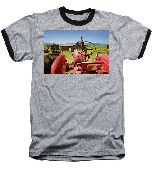 Massey Harris Tractor Baseball T-Shirt