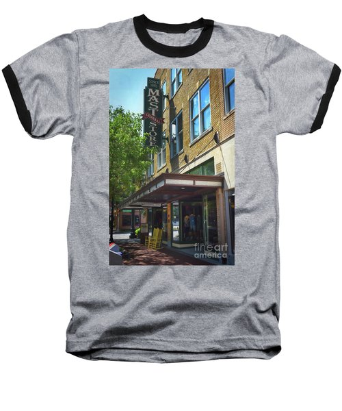 Baseball T-Shirt featuring the photograph Mast General by Skip Willits