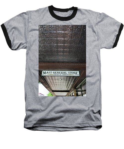 Baseball T-Shirt featuring the photograph Mast General Store II by Skip Willits