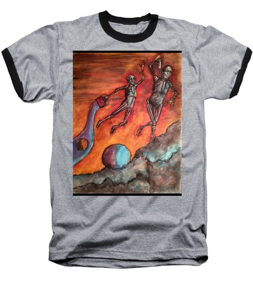 Master Minds Of Mars, The Voices Of Time Baseball T-Shirt