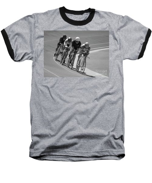 Masters Competition Team Pursuit Baseball T-Shirt