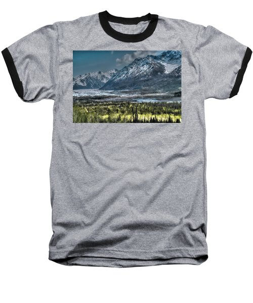 Matanuska Glacier, Alaska Baseball T-Shirt