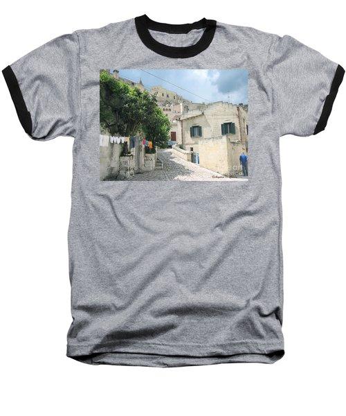 Matera's Colorful Laundry Baseball T-Shirt