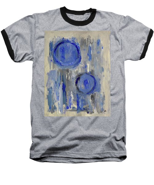 Baseball T-Shirt featuring the painting Maternal by Victoria Lakes