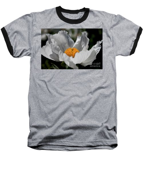Matilija Poppy Baseball T-Shirt