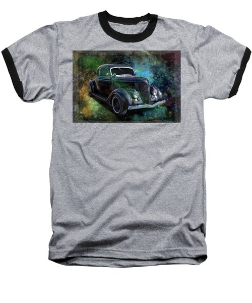 Matt Black Coupe Baseball T-Shirt