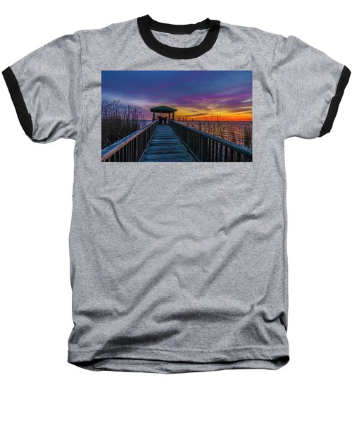 Mattamuskeet Lake Baseball T-Shirt