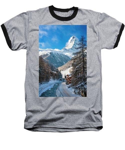 Matterhorn  Baseball T-Shirt