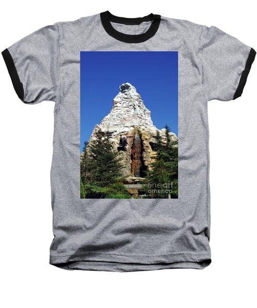 Matterhorn Disneyland Baseball T-Shirt